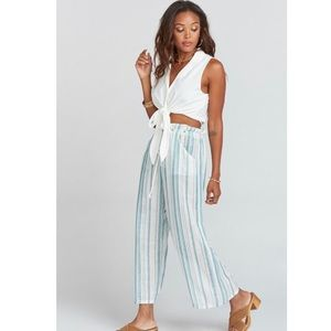 Show me your mumu Peterson wide leg crop pants🤯